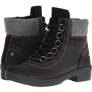 Hush Puppies Dorris Fairley Leather Ankle Boots